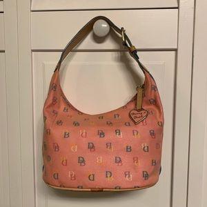 Dooney & Bourke Pink Multicolor Bucket Handbag